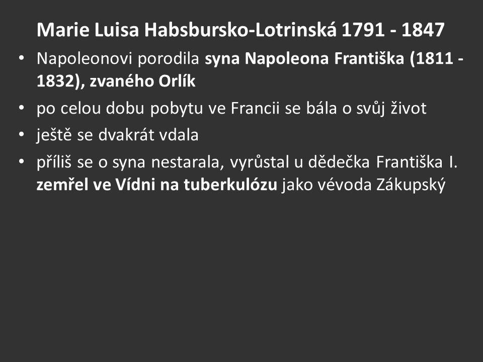 Marie Luisa Habsbursko-Lotrinská 1791 - 1847