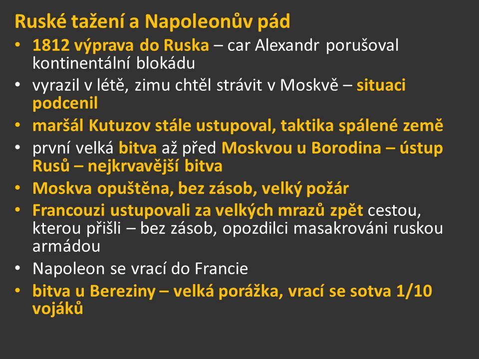 Ruské tažení a Napoleonův pád