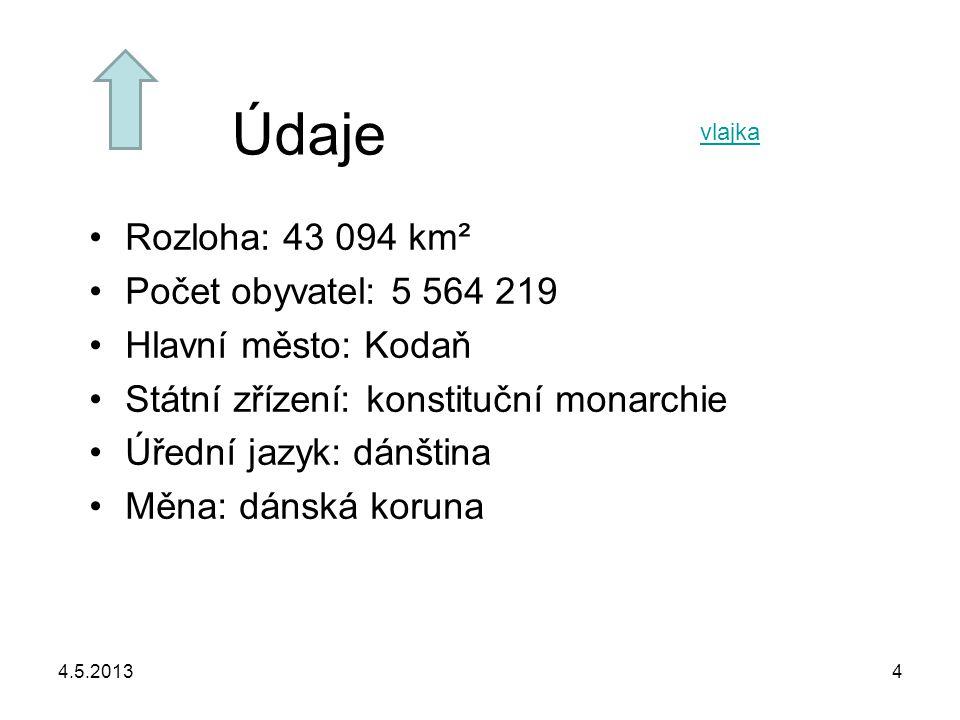 Údaje Rozloha: 43 094 km² Počet obyvatel: 5 564 219