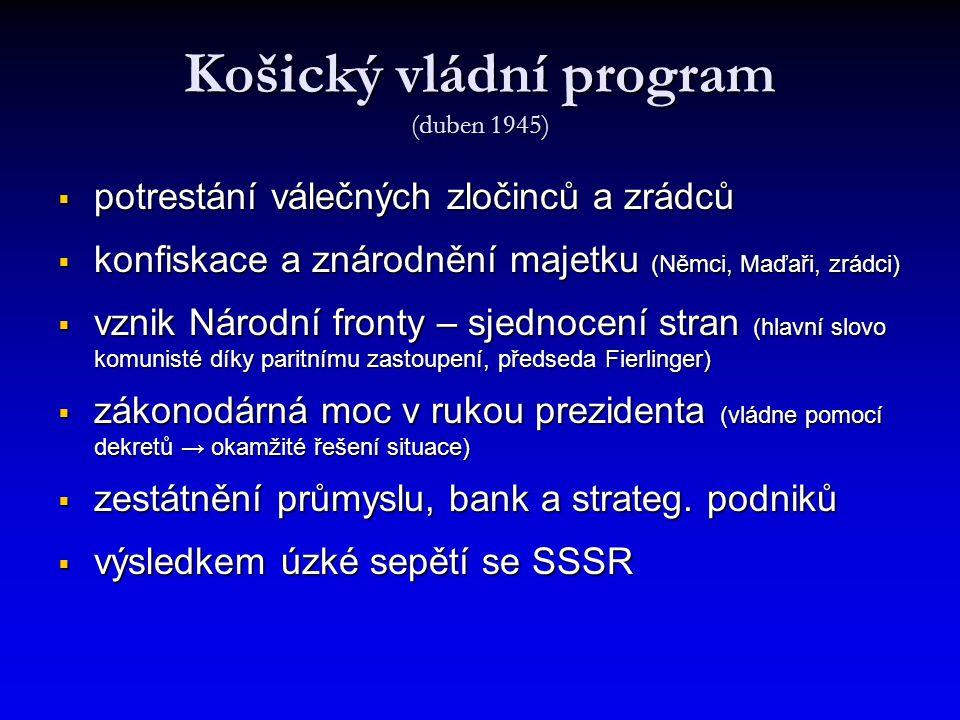 Košický vládní program (duben 1945)