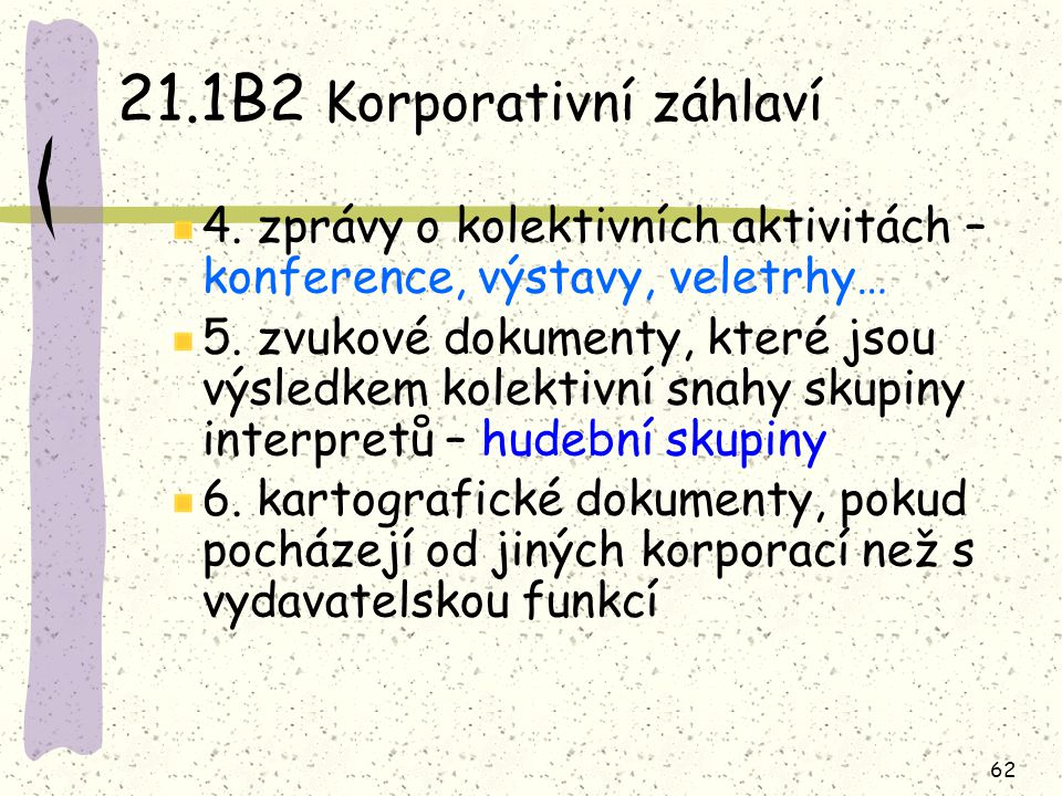 21.1B2 Korporativní záhlaví