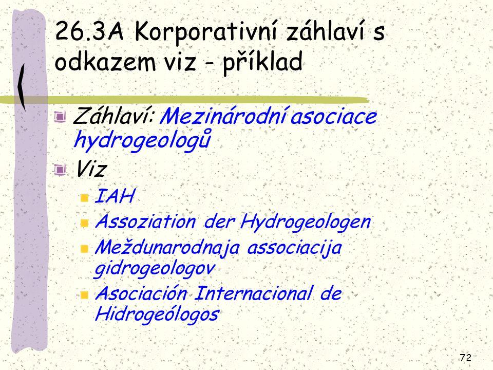 26.3A Korporativní záhlaví s odkazem viz - příklad
