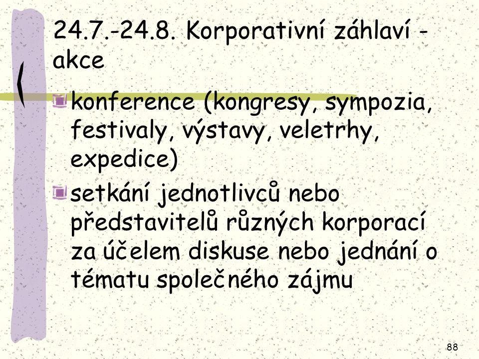 24.7.-24.8. Korporativní záhlaví - akce