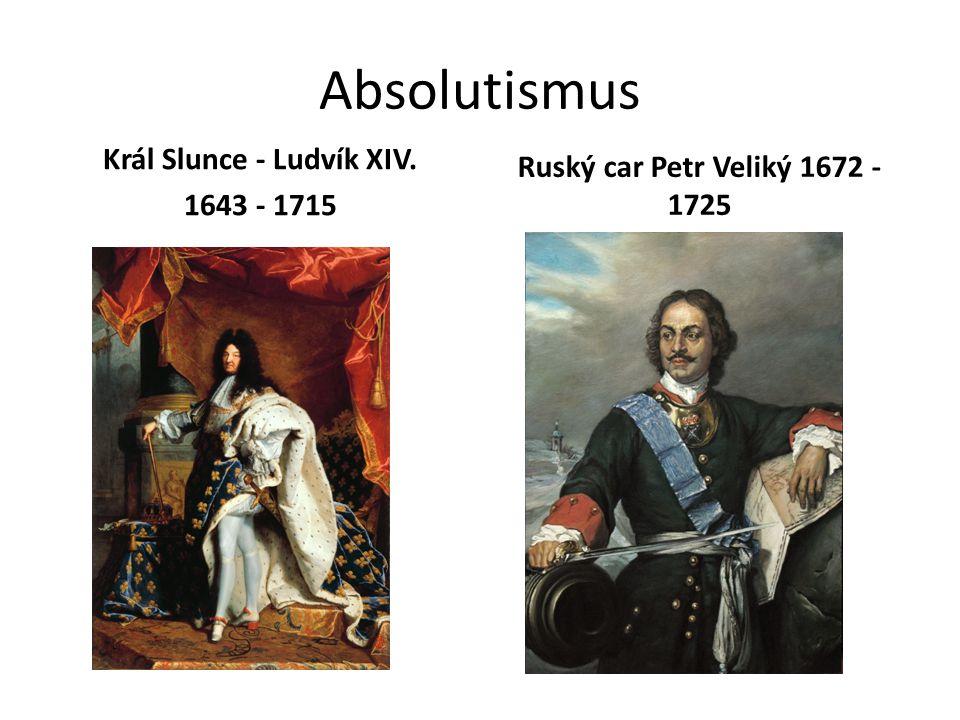 Král Slunce - Ludvík XIV.