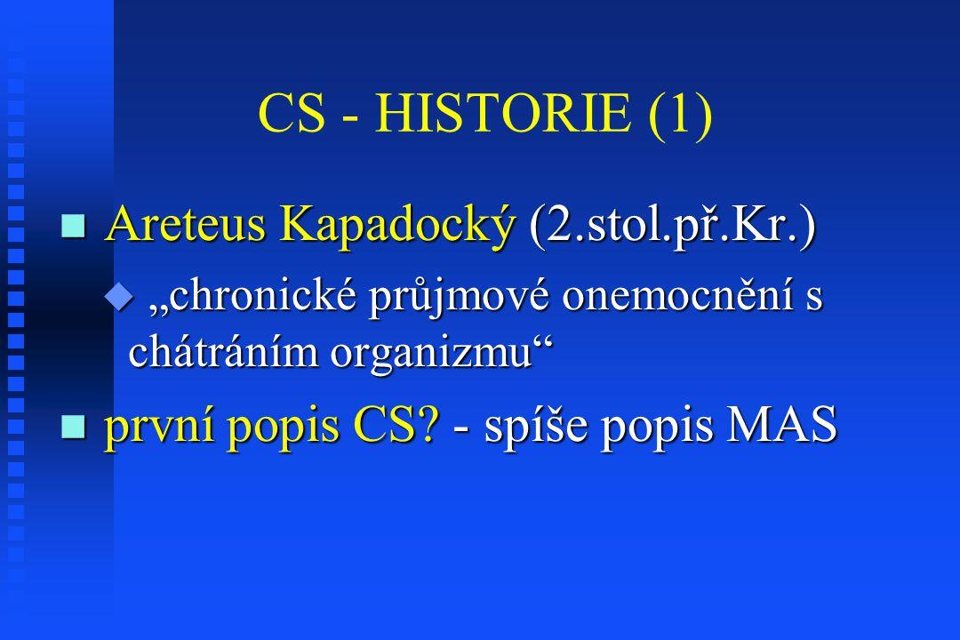 CS - HISTORIE (1) Areteus Kapadocký (2.stol.př.Kr.)