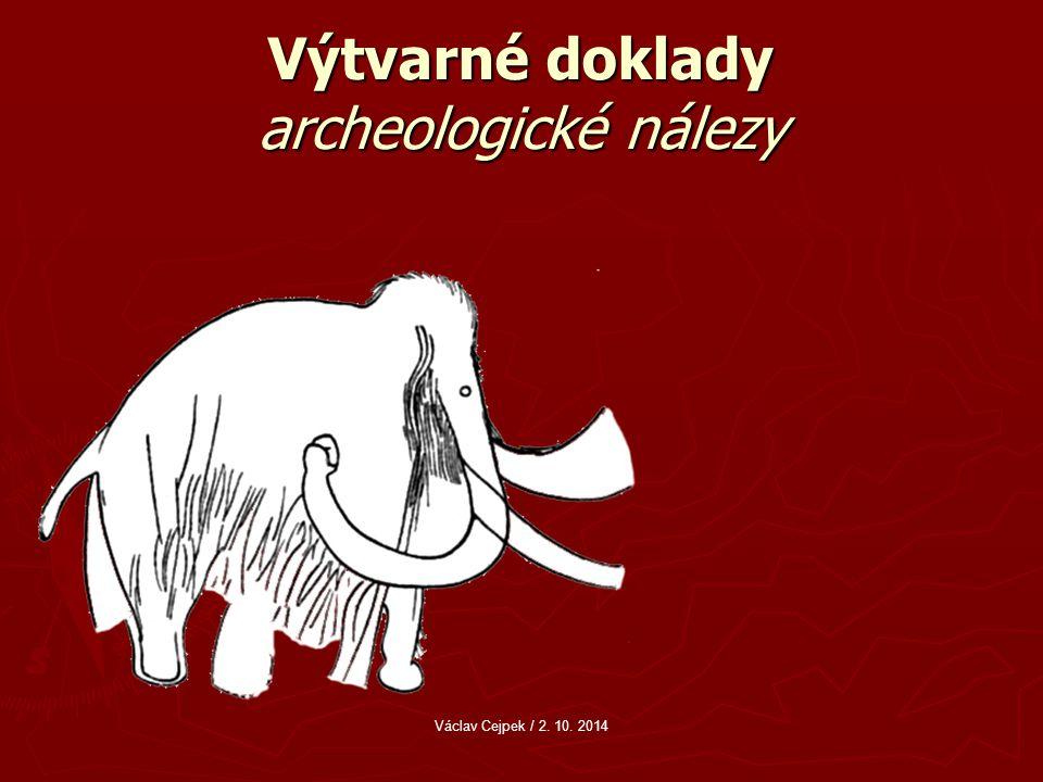 Výtvarné doklady archeologické nálezy