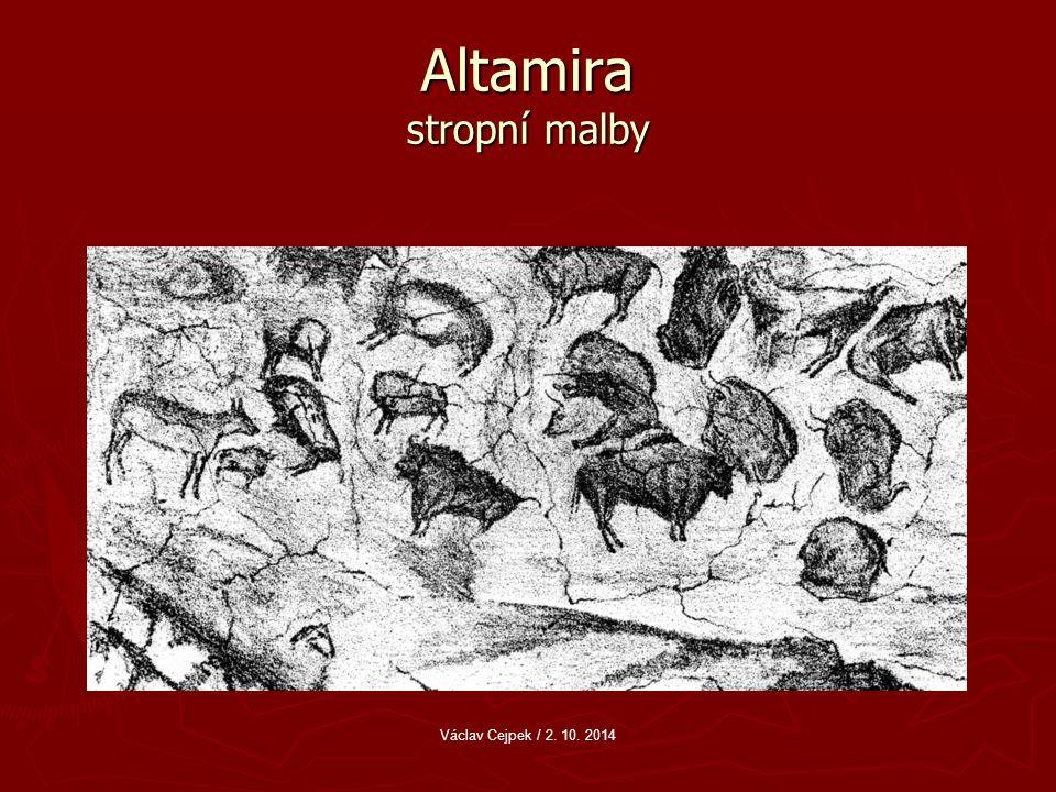 Altamira stropní malby