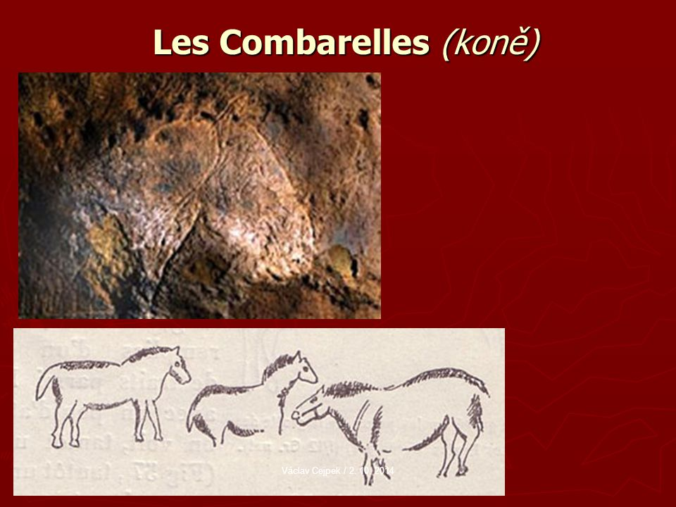 Les Combarelles (koně)
