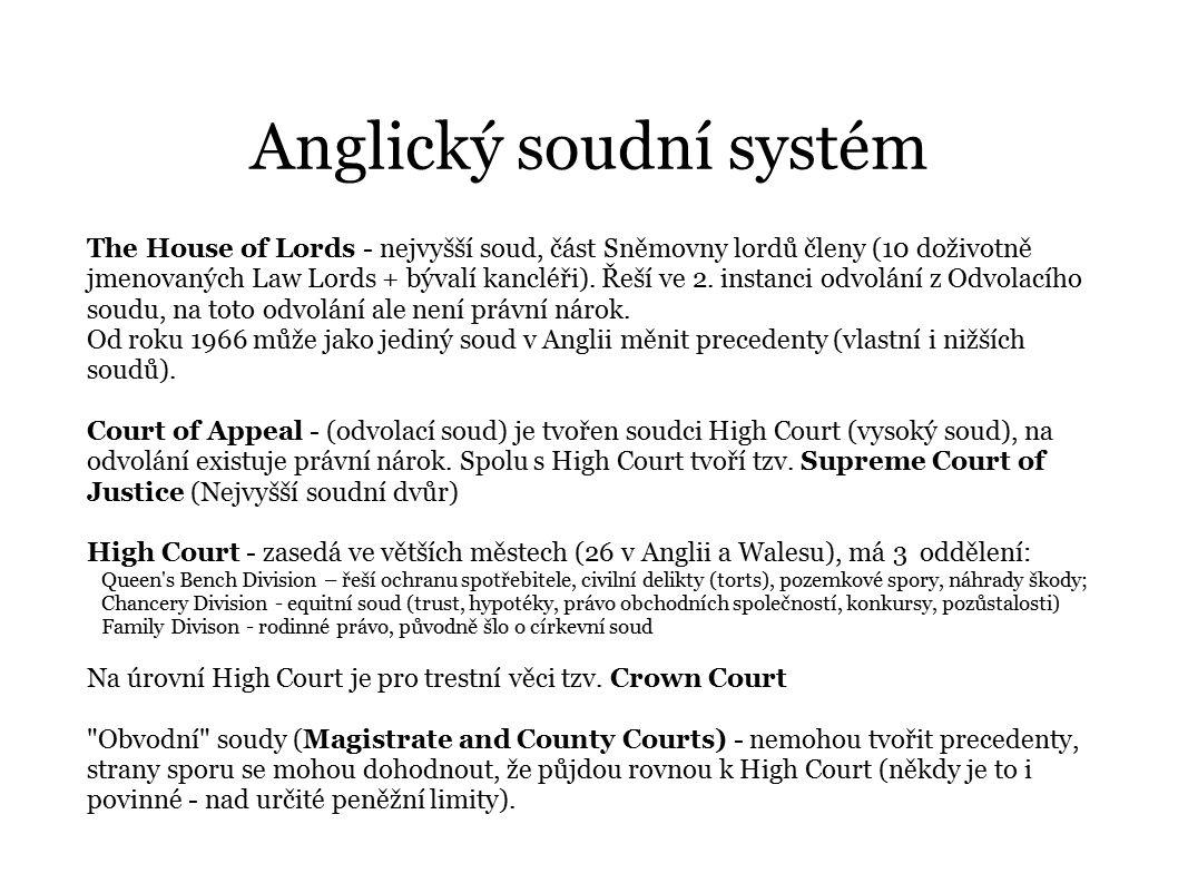 Anglický soudní systém