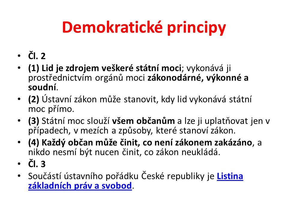 Demokratické principy
