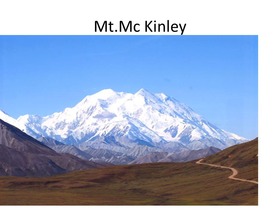 Mt.Mc Kinley 1.nej.hora S.Am m.n.m.