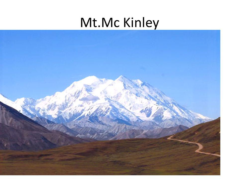 Mt.Mc Kinley 1.nej.hora S.Am. 6 194 m.n.m.