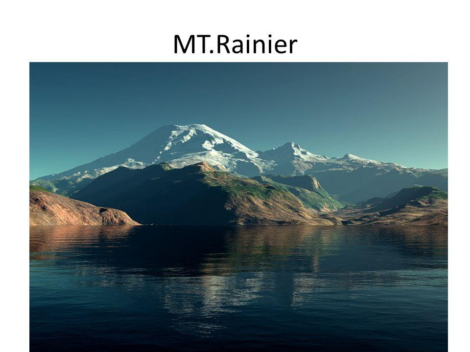 MT.Rainier Nevyšší hora 4 392 m.n.m.