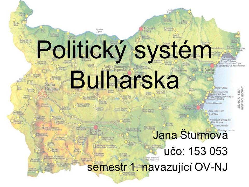 Politický systém Bulharska