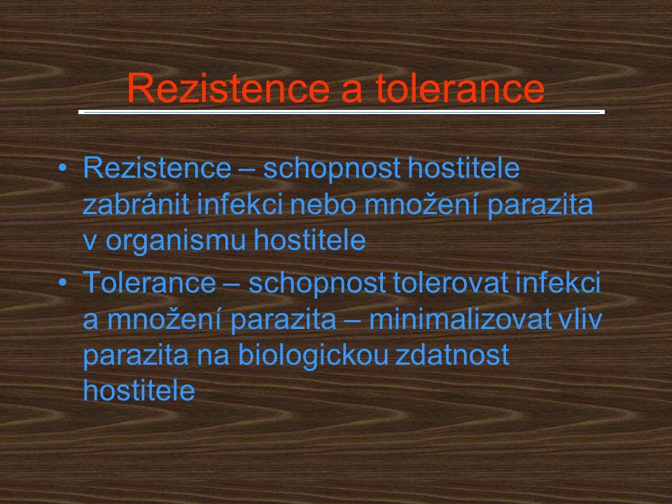 Rezistence a tolerance
