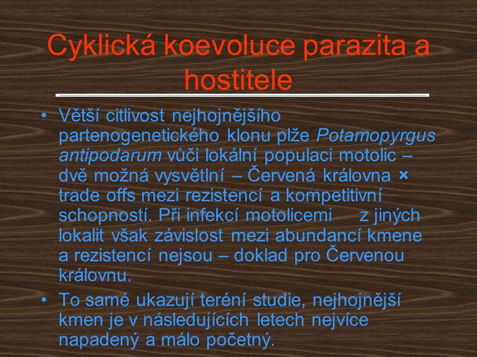 Cyklická koevoluce parazita a hostitele