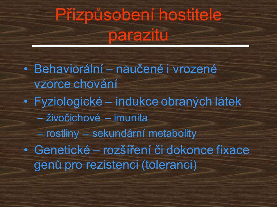 Přizpůsobení hostitele parazitu