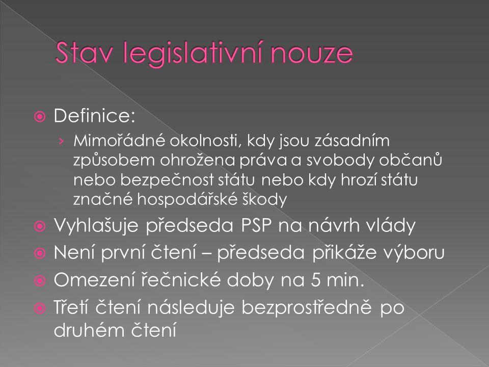 Stav legislativní nouze
