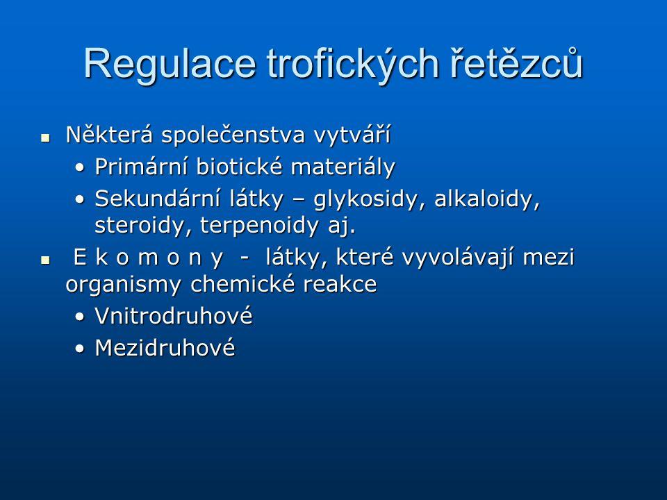 Regulace trofických řetězců