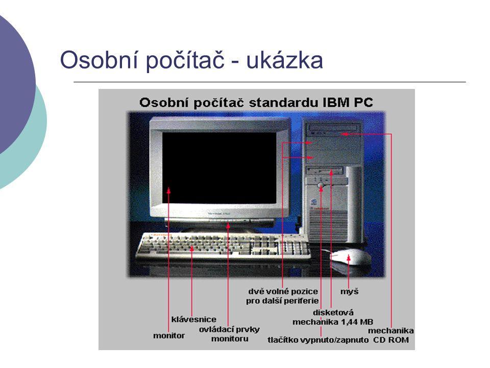 Osobní počítač - ukázka
