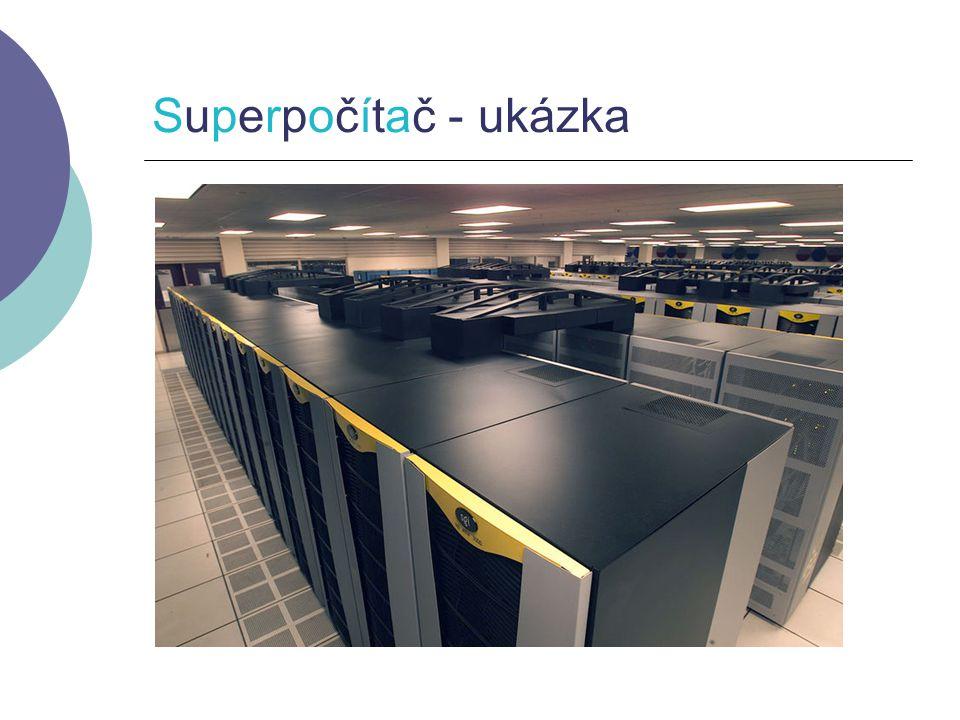 Superpočítač - ukázka