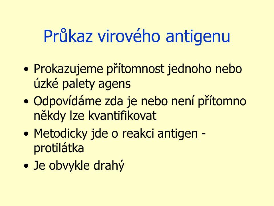 Průkaz virového antigenu