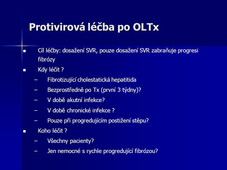 Protivirová léčba po OLTx