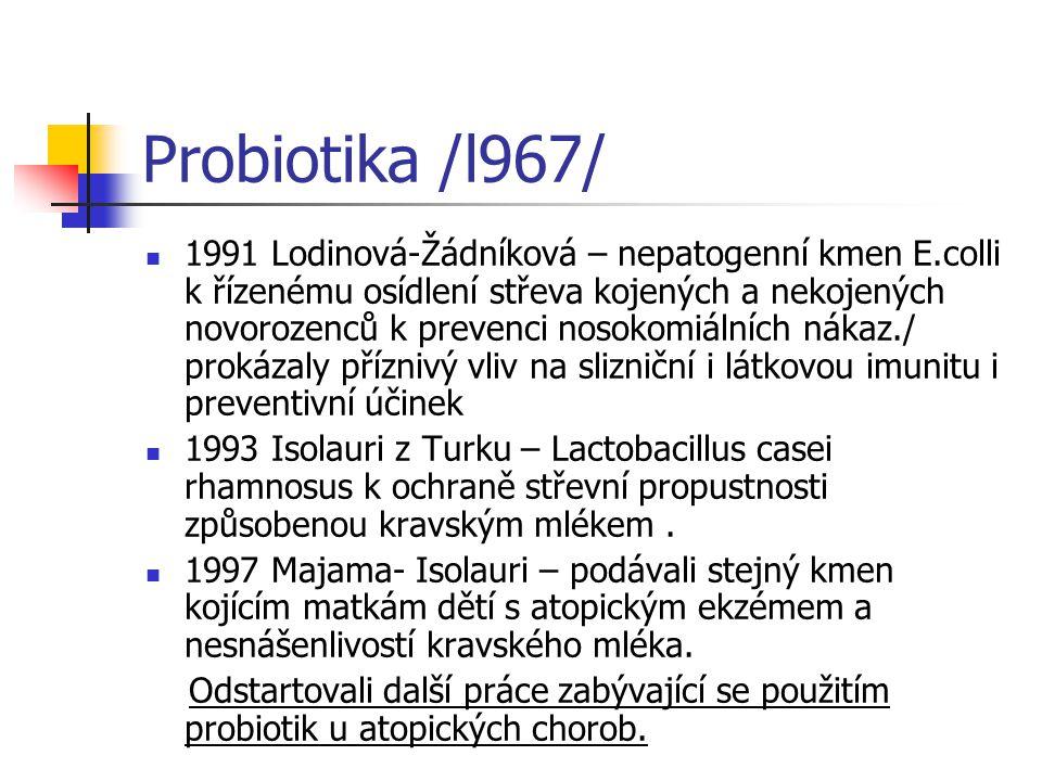 Probiotika /l967/