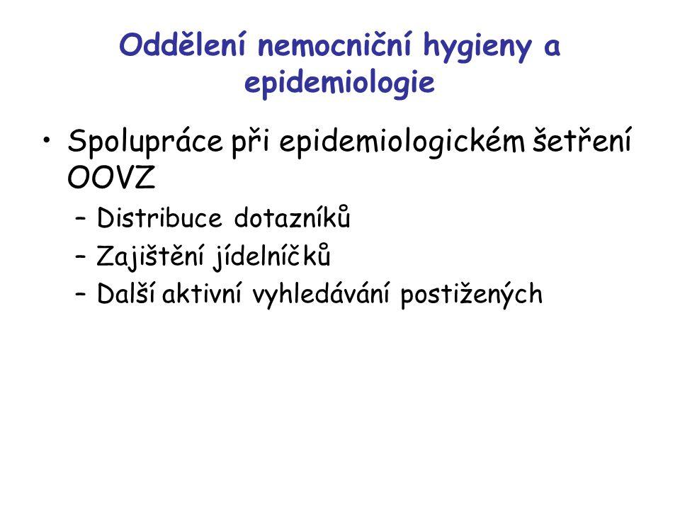 Oddělení nemocniční hygieny a epidemiologie