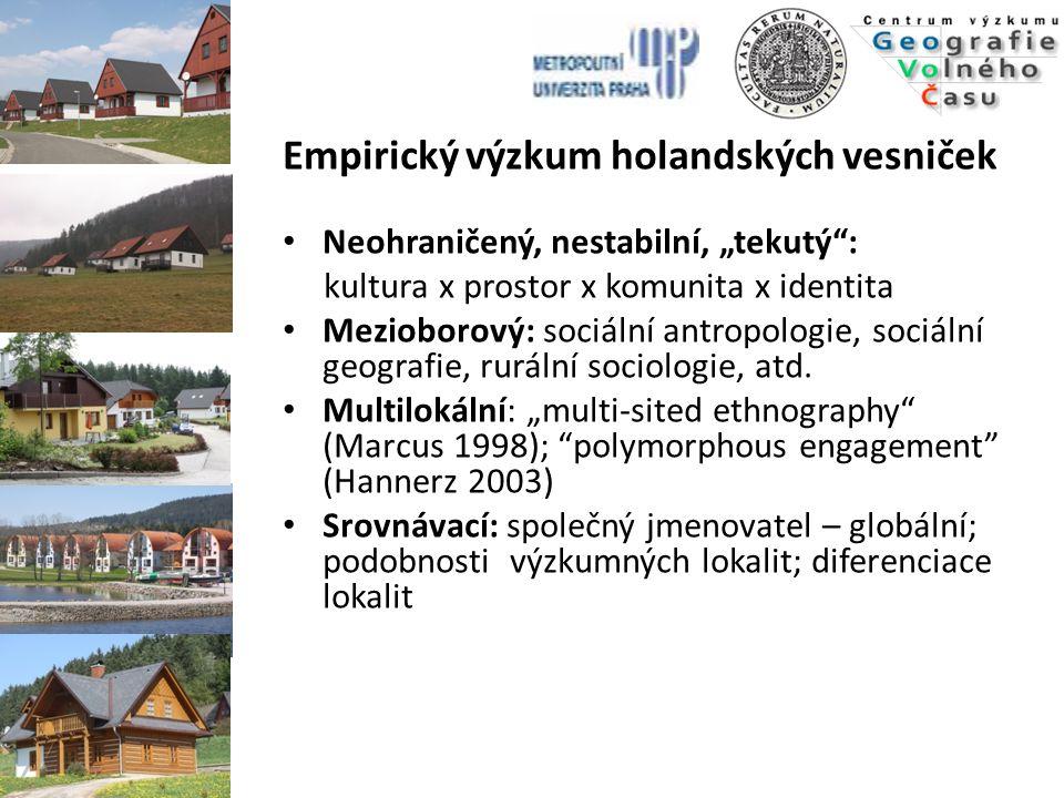 Empirický výzkum holandských vesniček