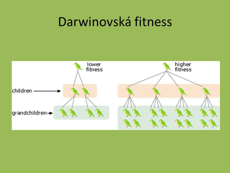 Darwinovská fitness
