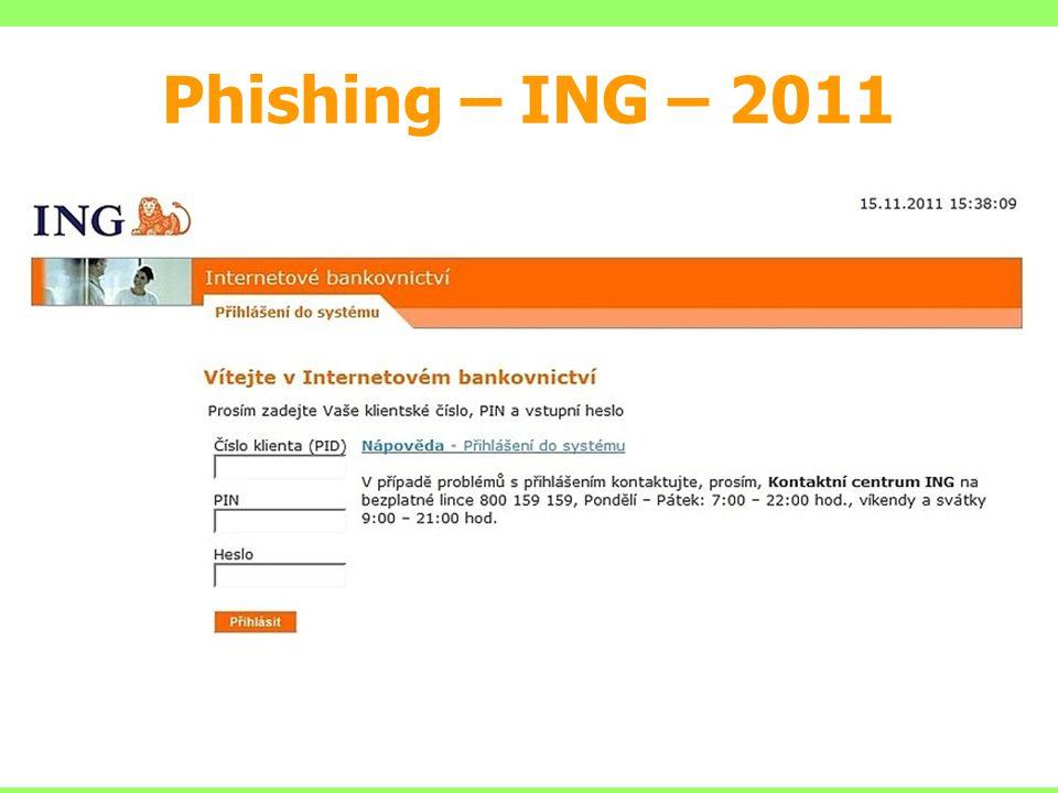 Phishing – ING – 2011
