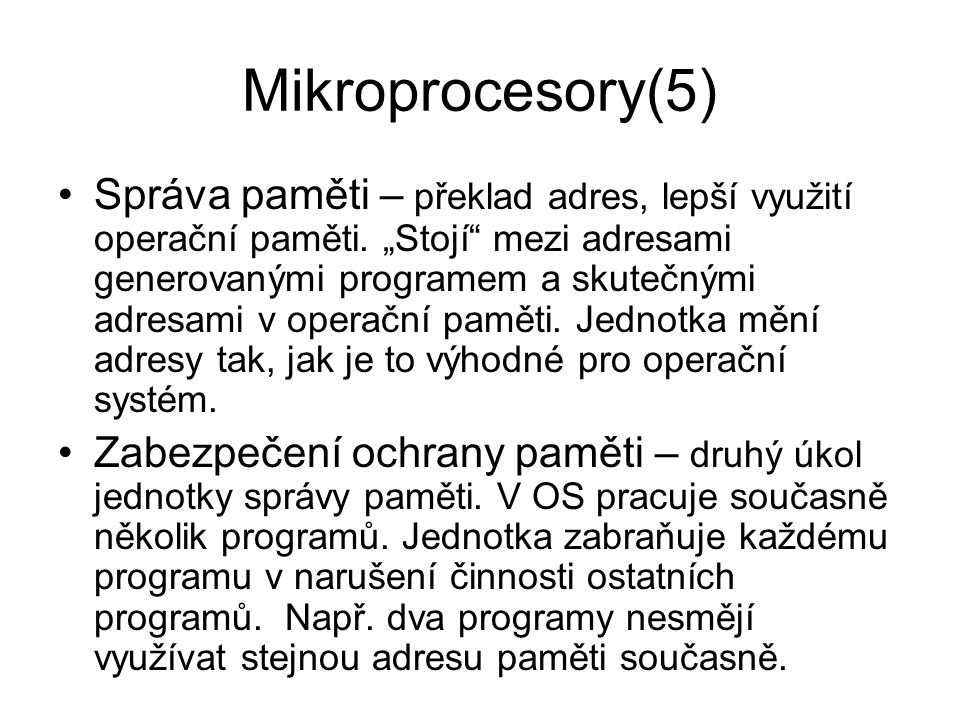Mikroprocesory(5)