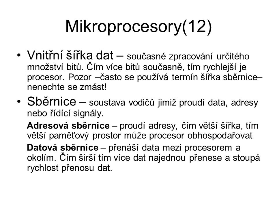 Mikroprocesory(12)