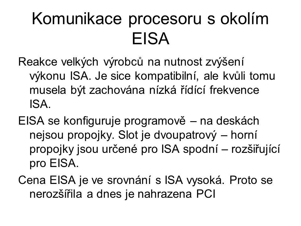 Komunikace procesoru s okolím EISA
