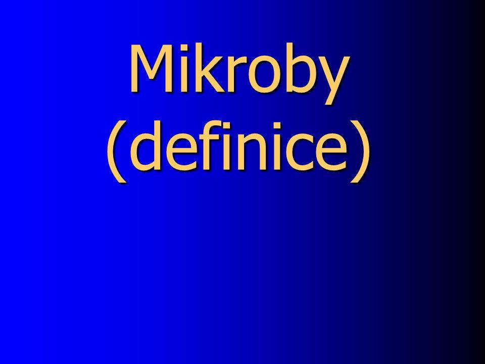 Mikroby (definice)