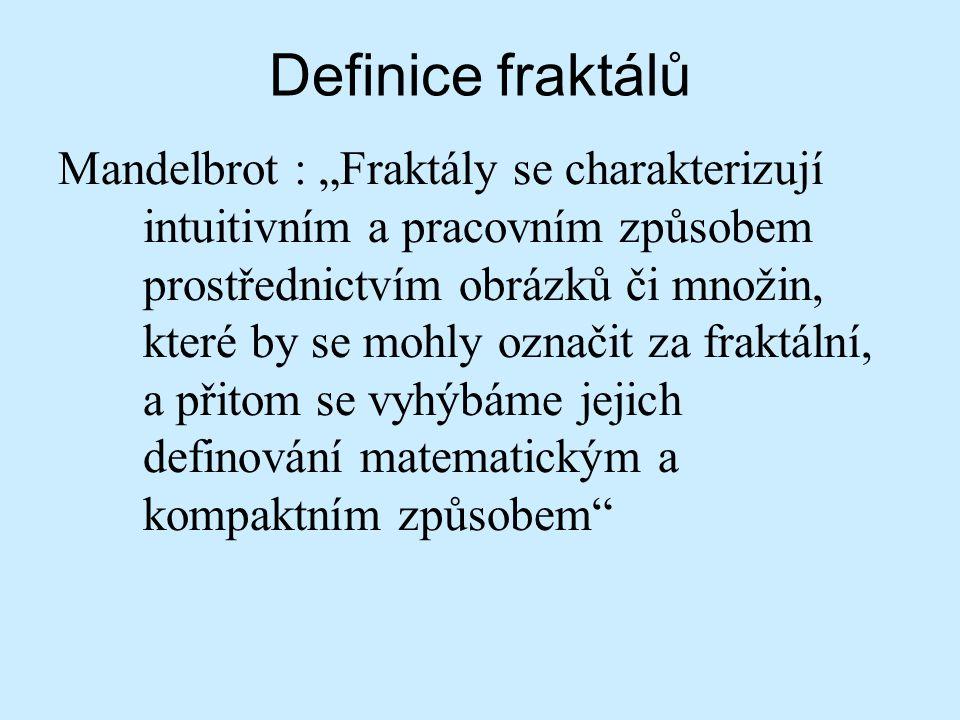 Definice fraktálů