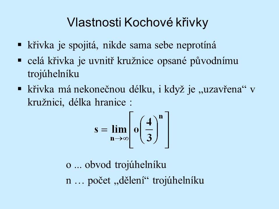 Vlastnosti Kochové křivky