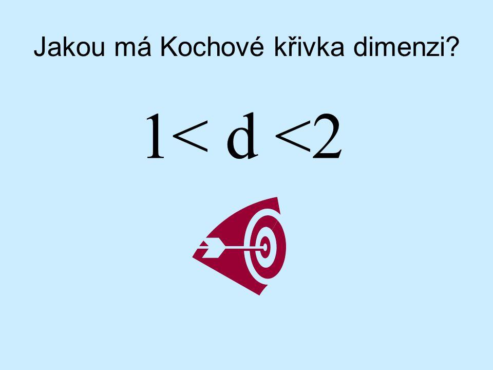 Jakou má Kochové křivka dimenzi