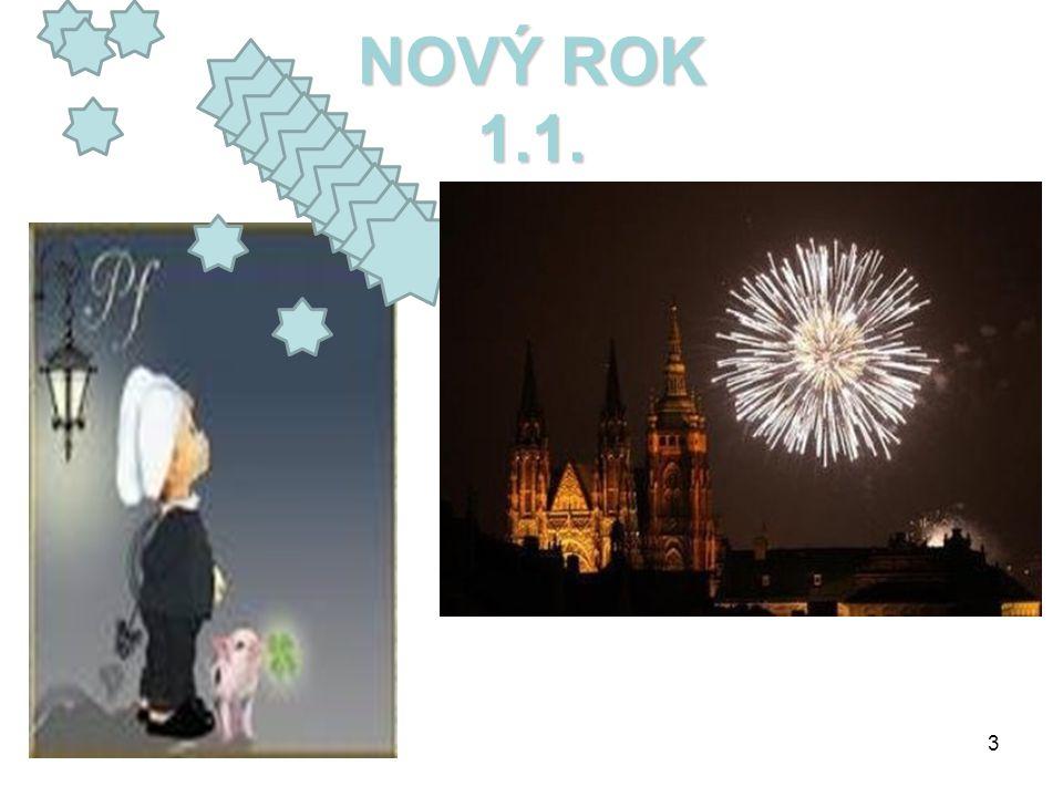 NOVÝ ROK 1.1. .