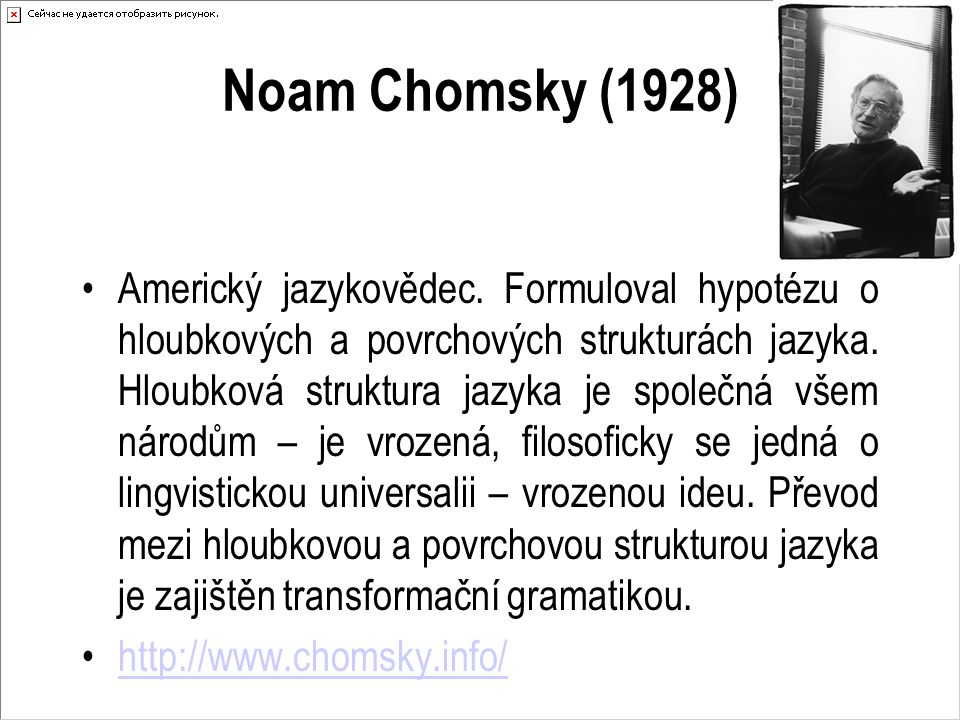 Noam Chomsky (1928)