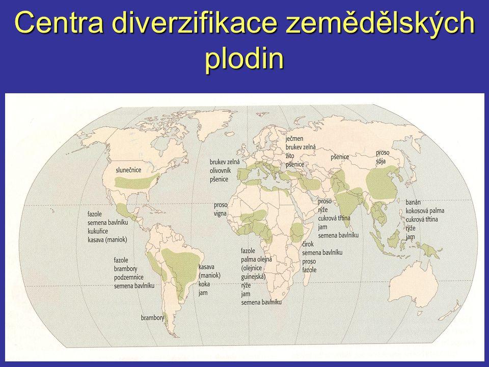 Centra diverzifikace zemědělských plodin
