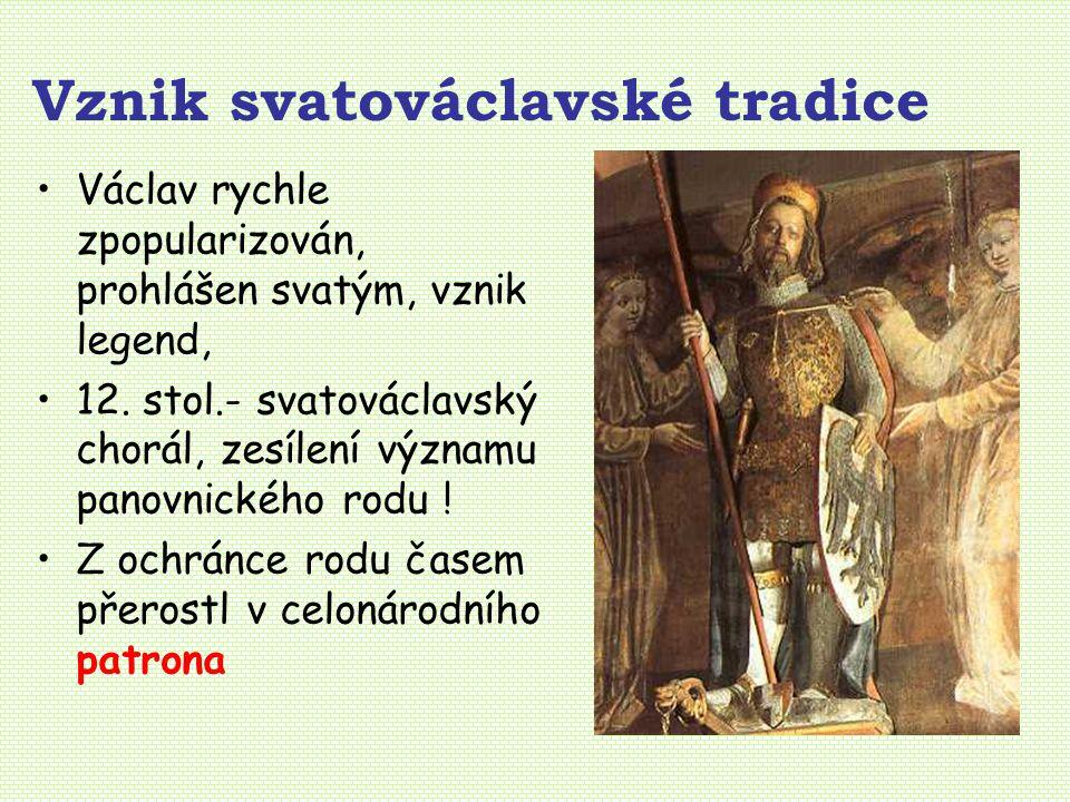 Vznik svatováclavské tradice