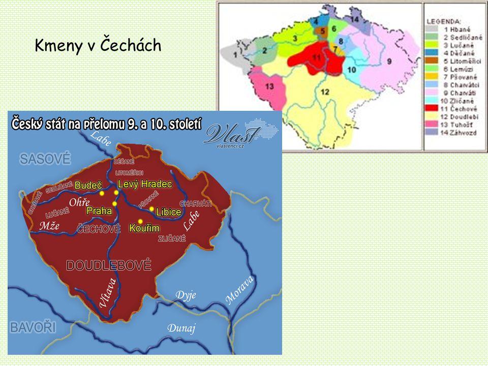 Kmeny v Čechách