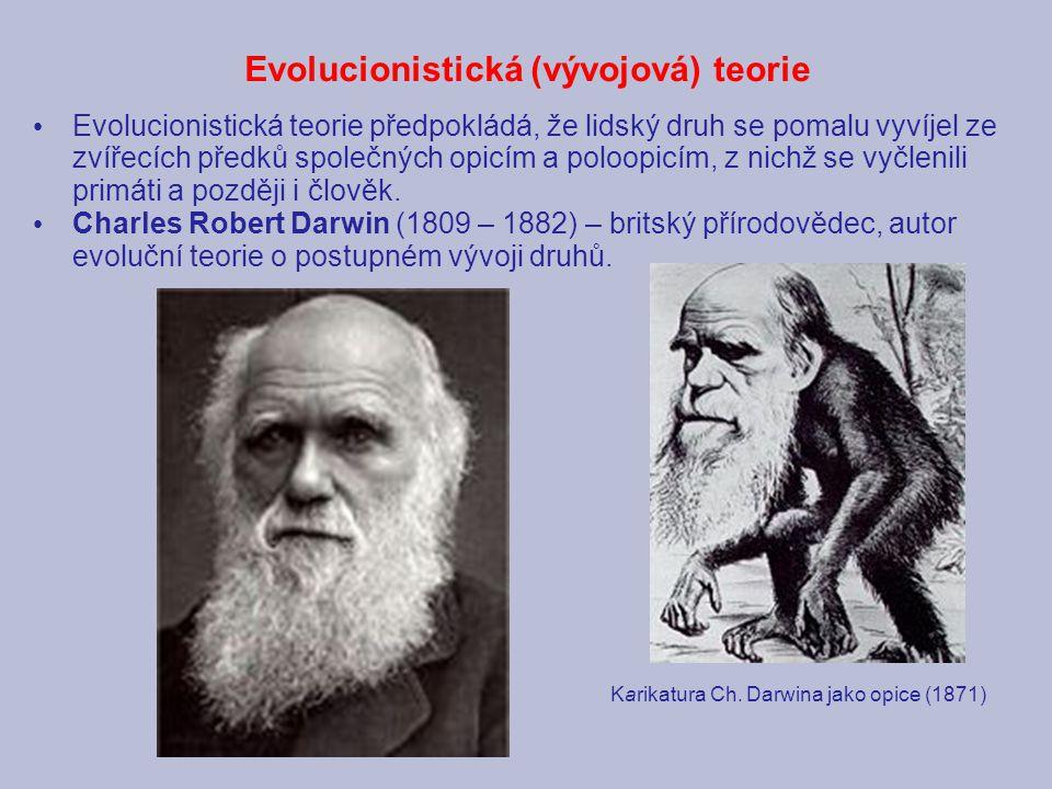 Evolucionistická (vývojová) teorie