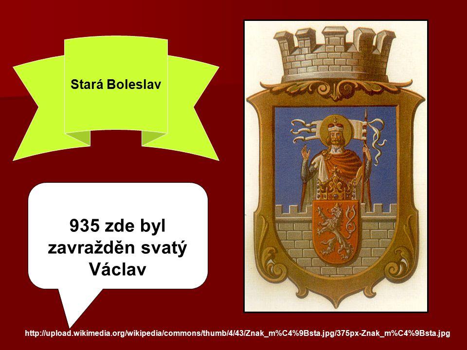 zavražděn svatý Václav