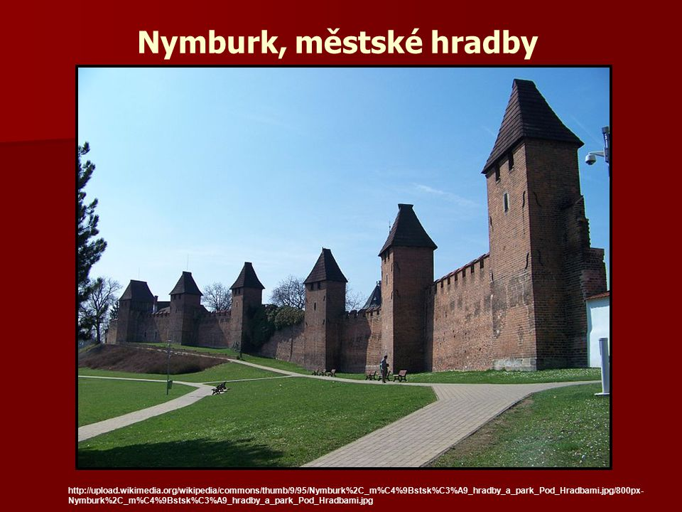 Nymburk, městské hradby
