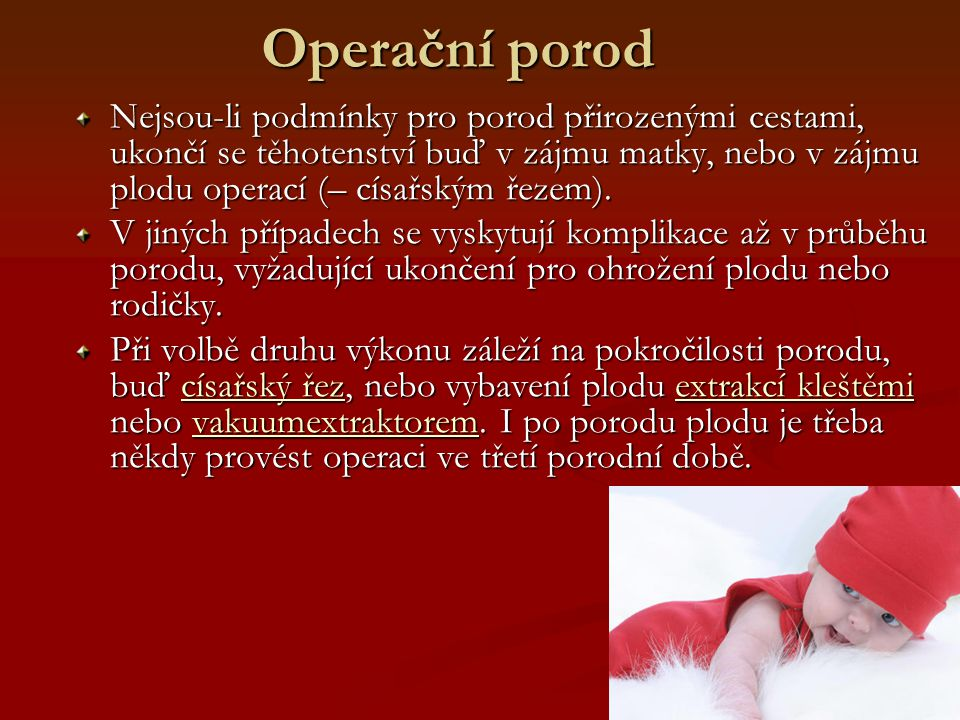 Operační porod