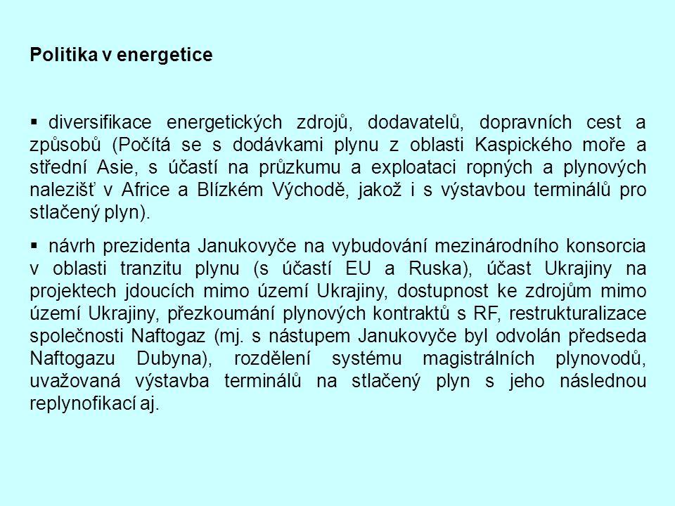 Politika v energetice