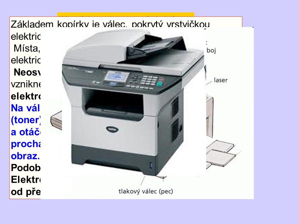 Kopírka a laserová tiskárna